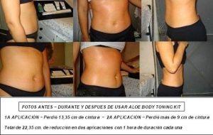 Thành phần Aloe Body Toning Kit Bộ sản phẩm mát-xa làm thon gọn cơ thể
